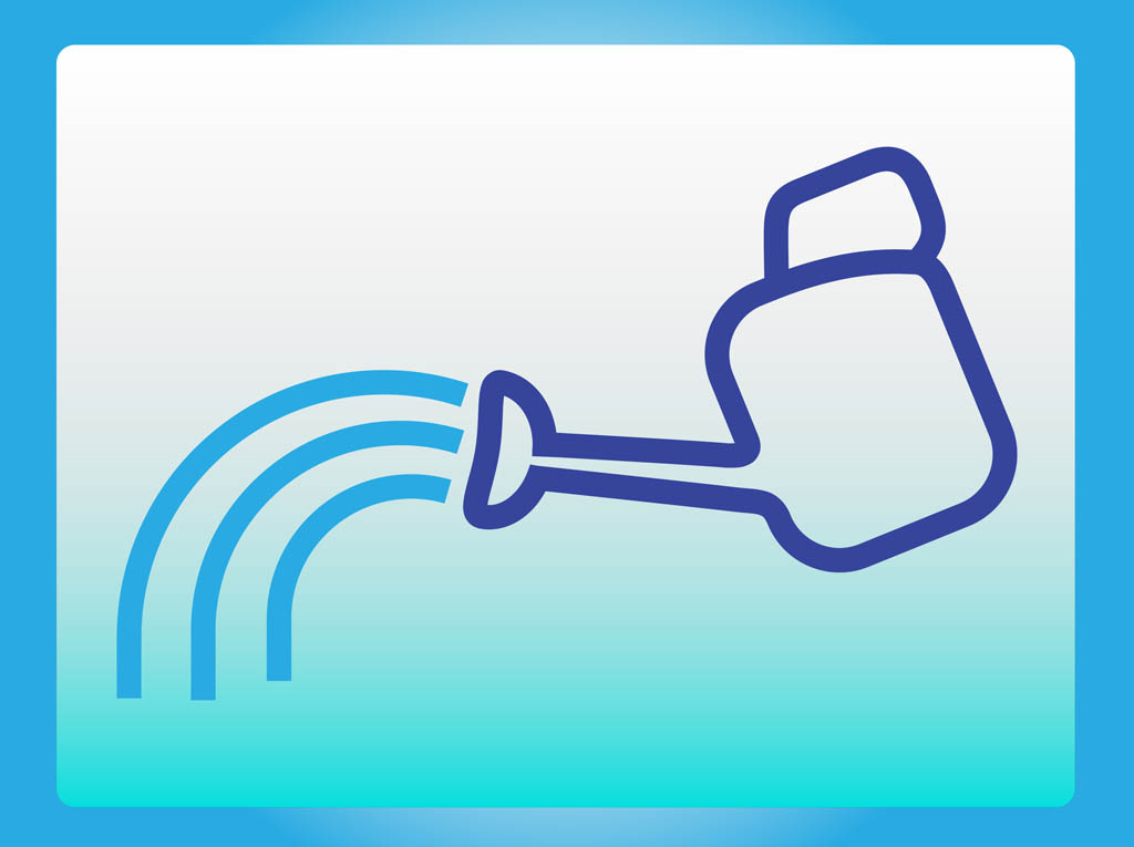 1024x765 Watering Can Icon Vector Art Amp Graphics