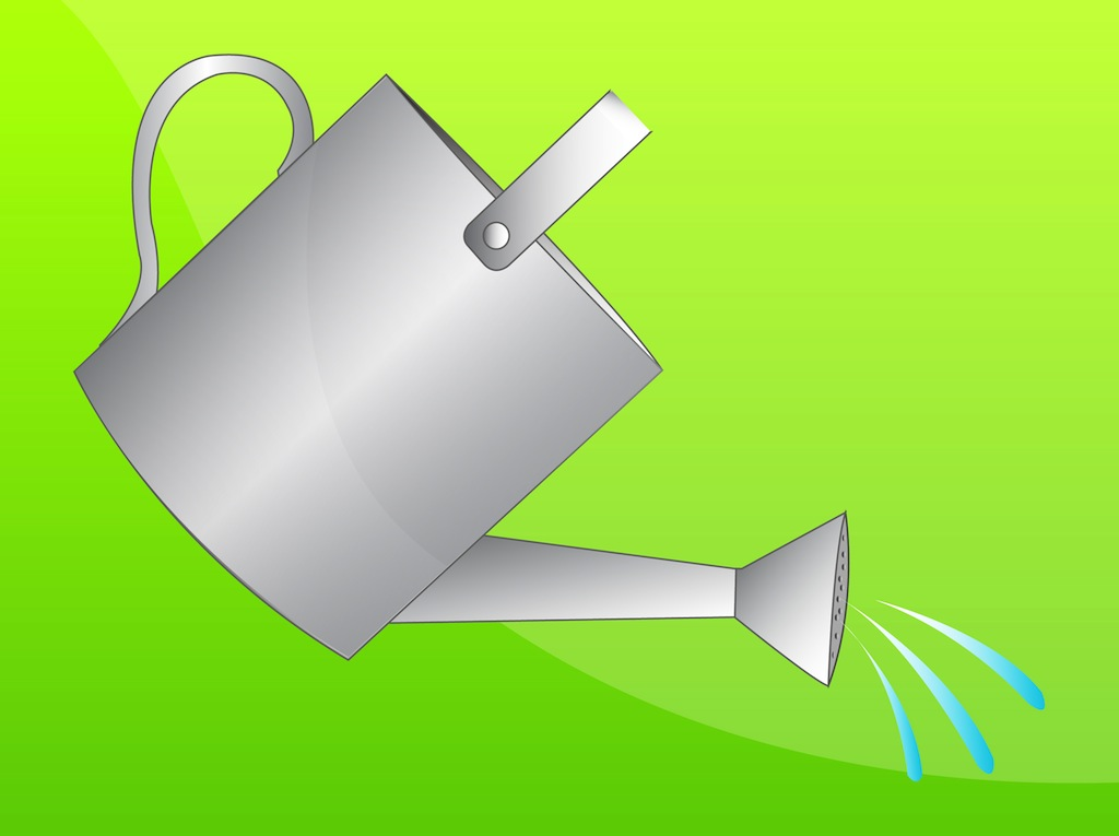 1024x765 Watering Can Vector Art Amp Graphics