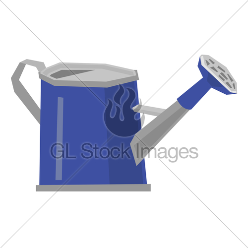 500x500 Watering Can Vector Illustration. Gl Stock Images