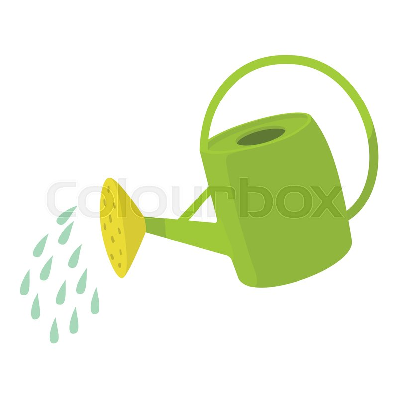 800x800 Watering Can Icon. Cartoon Illustration Of Watering Can Vector