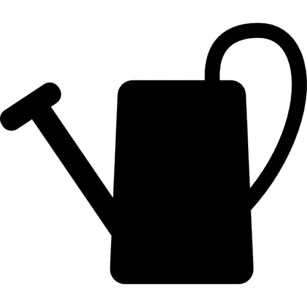 626x626 Watering Can Silhouette Icons Free Download