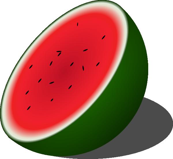 600x549 Watermelon Clip Art Free Vector 4vector