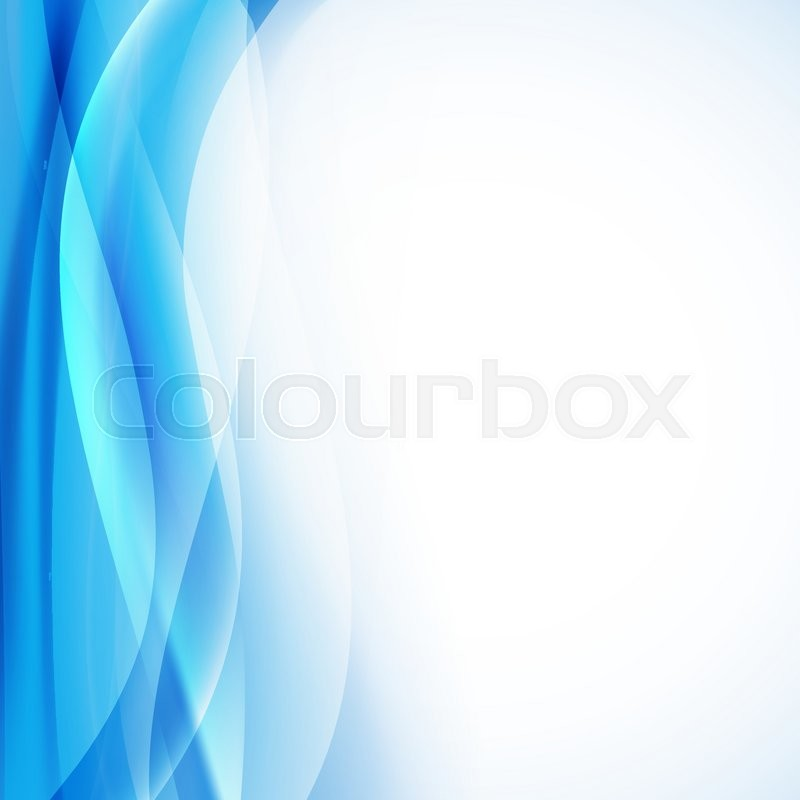 800x800 Light Blue Background With Transparent Folding Waves Vertical