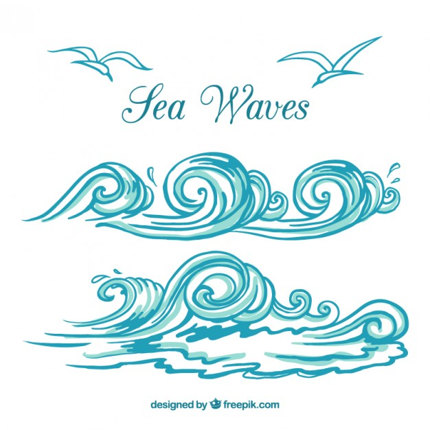 626x626 Waves Vectors, Photos And Psd Files Free Download