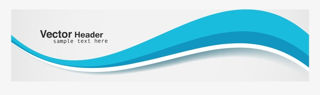 650x193 Blue Wavy Border, Wave Border, Vector Wave, Line Png And Vector