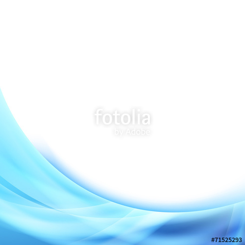 500x500 Bright Blue Wave Glowing Border Background Stock Image And