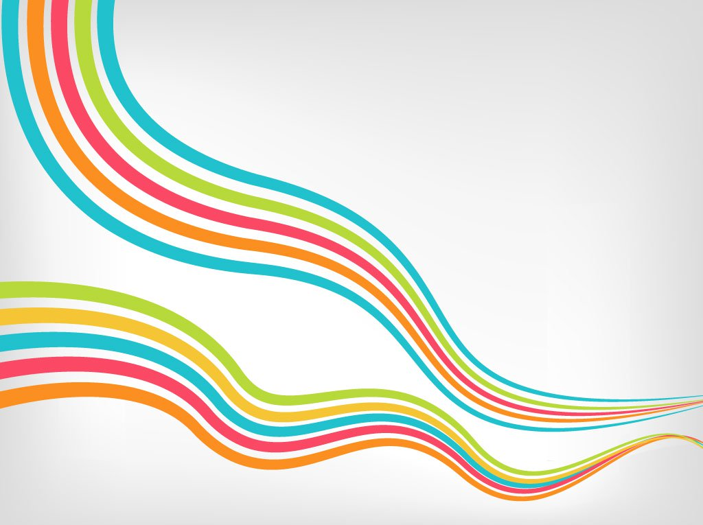1024x765 Striped Waves Vector Art Amp Graphics