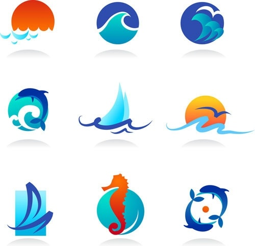 500x483 Waves Cartoon Graphics Vector Free Vector In Encapsulated
