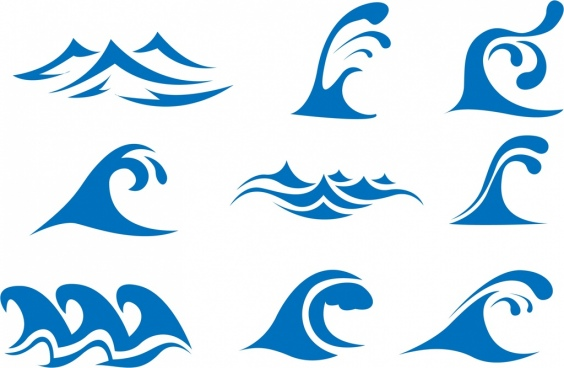 564x368 Wave Icon Free Vector Download (26,455 Free Vector) For Commercial