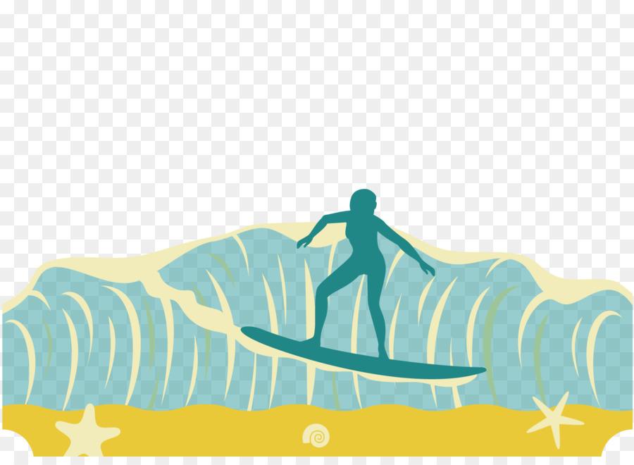 900x660 Graphic Design Surfing Wind Wave Illustration
