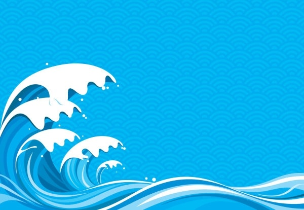 600x414 Wave Vector 5 Free Vector In Encapsulated Postscript Eps ( .eps