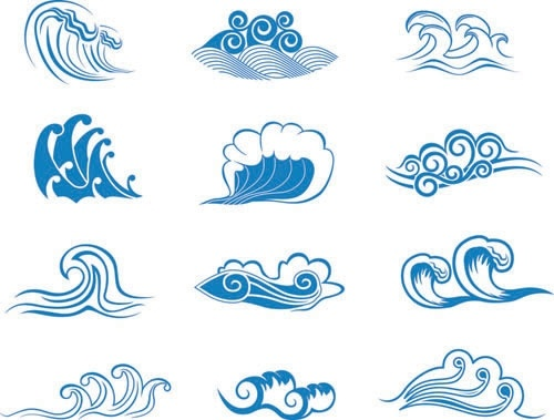 500x379 Wave Vector Graphic 2 Free Vector In Encapsulated Postscript Eps