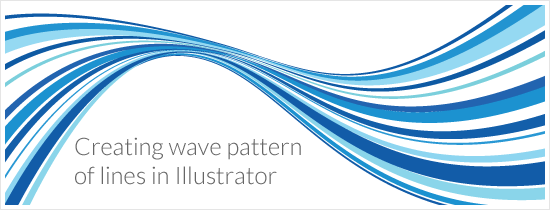 550x210 Creating A Wave Pattern Of Lines In Illustrator Jayhan Loves