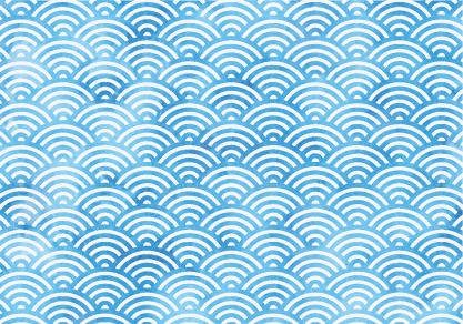 417x292 Vector Seamless Waves Pattern, Seamless Waves, Wave, Vector Png