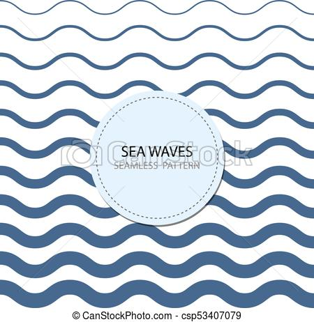450x462 Abstract Seamless Wave Pattern. Seamless Pattern. Blue Light And