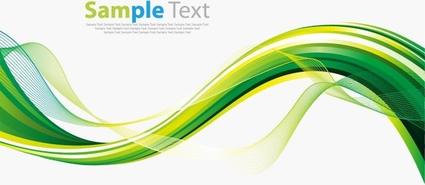 600x262 Green Wave Png Free Vector Download (70,559 Free Vector) For