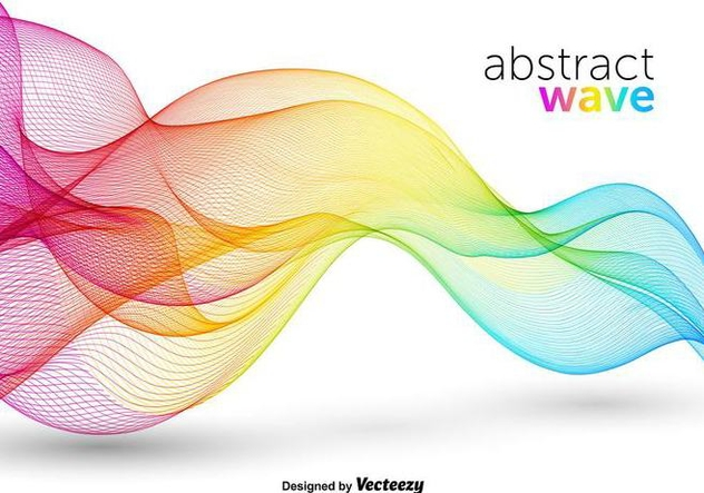 632x443 Colorful Abstract Wave Vector Free Vector Download 356411 Cannypic