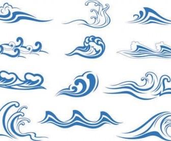 336x277 Wave Vector Graphic 1 Vector Art