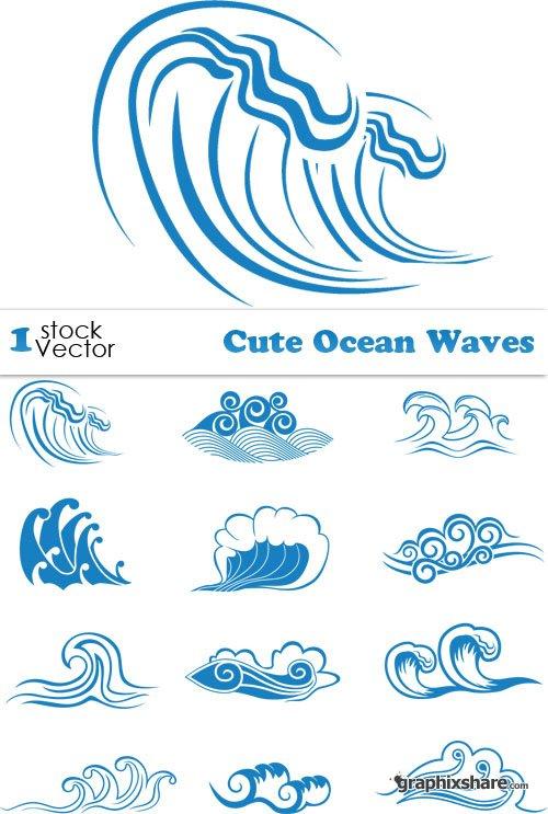 500x743 Wave Clipart Cute
