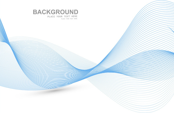 600x390 Wave Line Background Abstract Blue Colorful Line Wave Vector