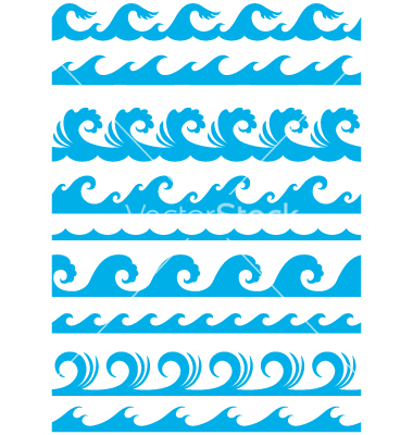 380x400 8 Ocean Wave Font Images