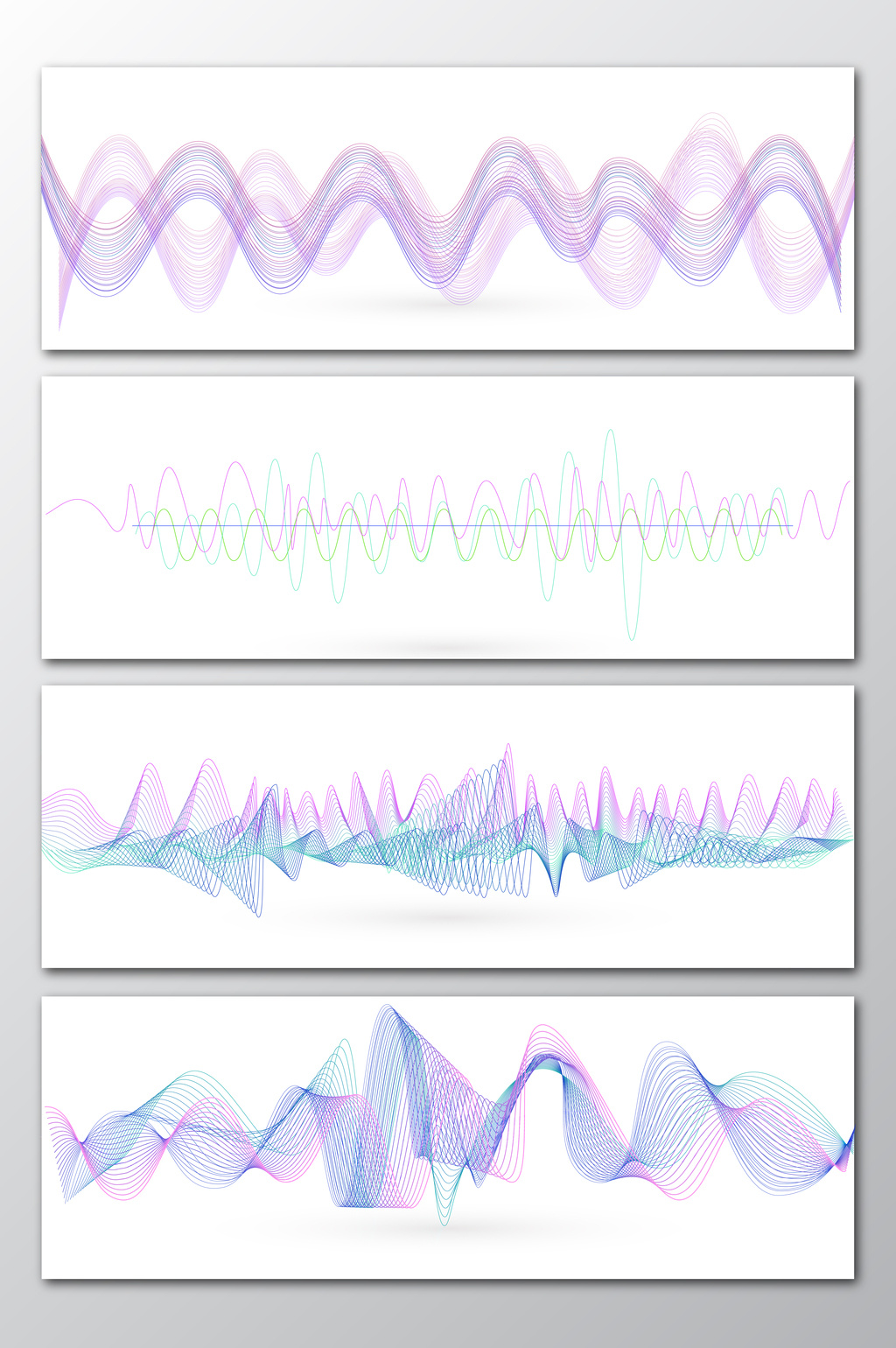1024x1540 Purple Dynamic Line Sound Wave Vector Free Download Pikbest