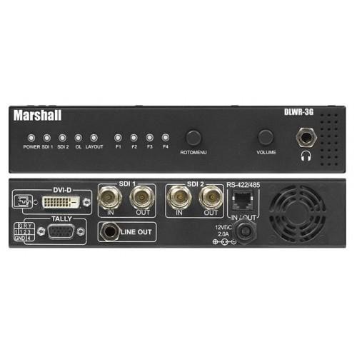 500x500 Marshall Electronics Dlwr 3g Waveform Vector Display Engine