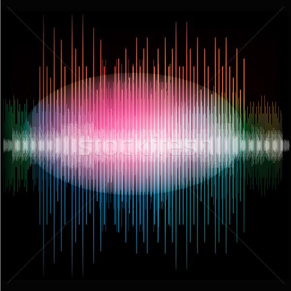 600x600 Sharp Colorful Waveform Vector Illustration Ivan Kopylov