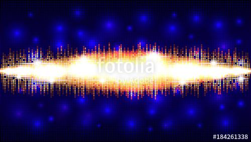 500x283 Soundwave Audio Sound Wave Abstract Background Audio Waveform