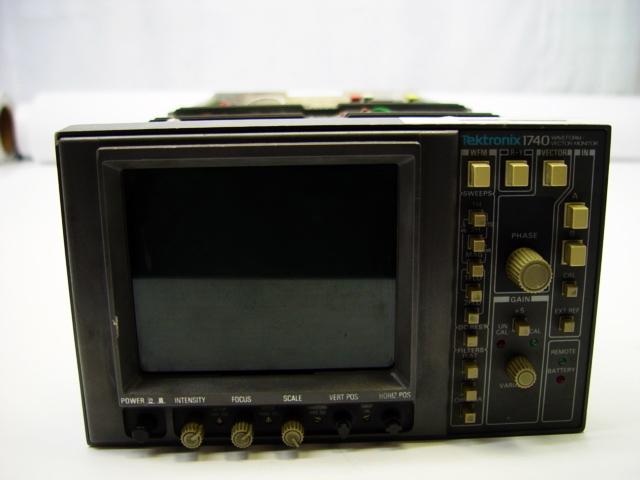 640x480 Tektronix 1740 Waveform Vector Monitor Ebay
