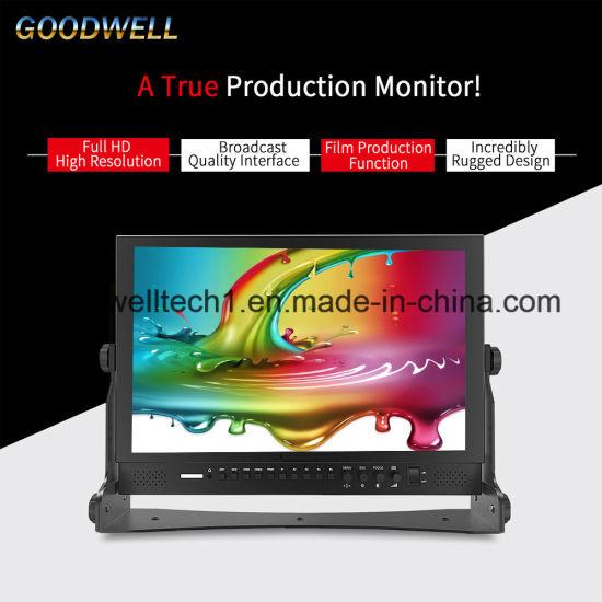 550x550 China Waveform, Vector Scope 17.3 3g Sdi Lcd Monitor