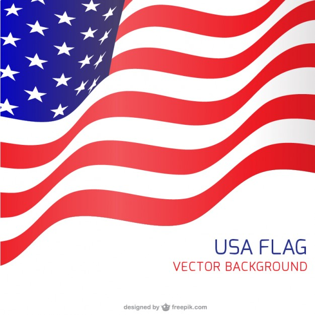 626x626 Usa Flag Waving Backgound Vector Free Download