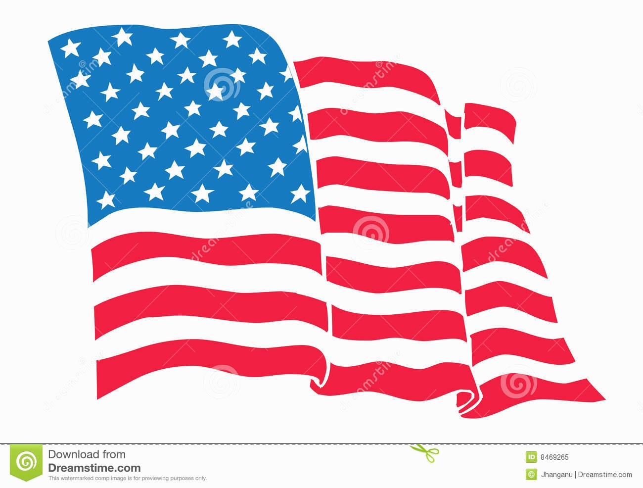 1300x986 Usa Flag Vector Free Unique Waving American Stars And Stripes Usa