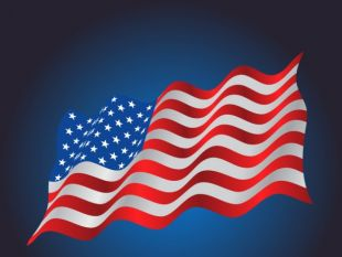 310x233 Waving Usa Flag Background Free Vectors Ui Download