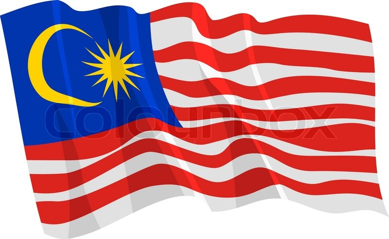 800x491 Political Waving Flag Of Malaysia Stock Vector Colourbox