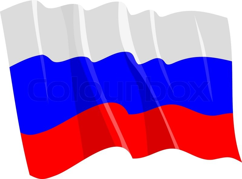 800x593 Political Waving Flag Of Russia Stock Vector Colourbox