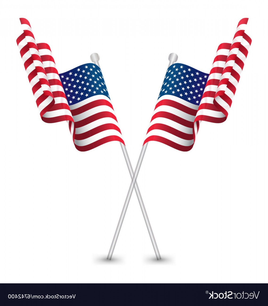 1138x1296 The Usa Waving Flag Vector Lazttweet