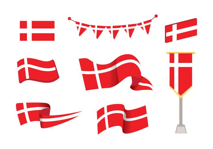 700x490 Wavy Flag Free Vector Art