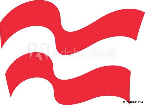 500x363 Wave Flag Of Austria Austria Waving Flag Vector Illustration