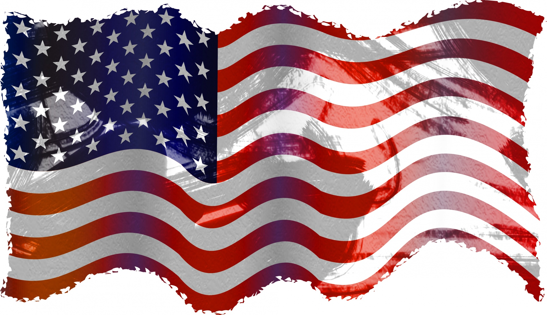 1920x1105 Waving American Flag Vector 4128640