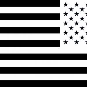 300x300 Waving American Stars And Stripes Usa Flag Vector Clipart Orangiausa