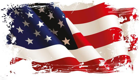 550x327 American Flag Vectors Design