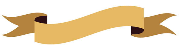 600x171 Get Gilded With This Gold Ribbon Banner Vector Tutorial