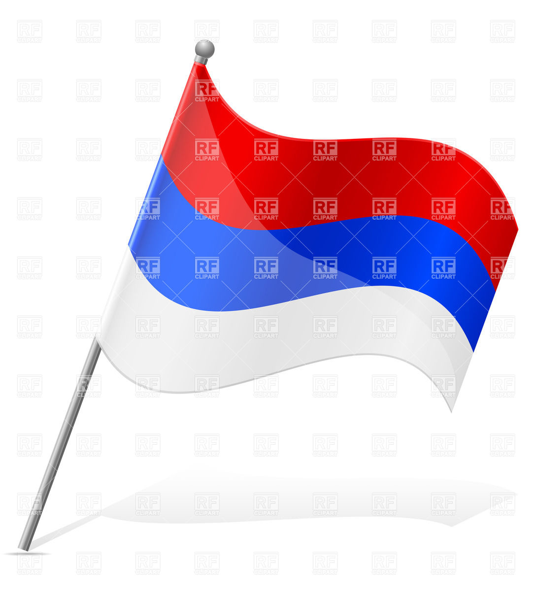 1086x1200 Icon Of Flag Of Serbia
