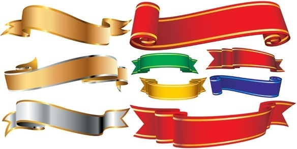 584x293 Vector Sale Ribbon Banner Free Vector Download (13,723 Free Vector