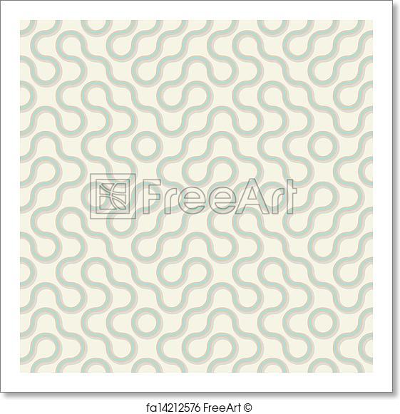 561x581 Free Art Print Of Vector Seamless Pattern