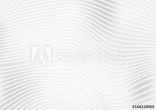 500x354 Abstract Grey White Wavy Lines Vector Background