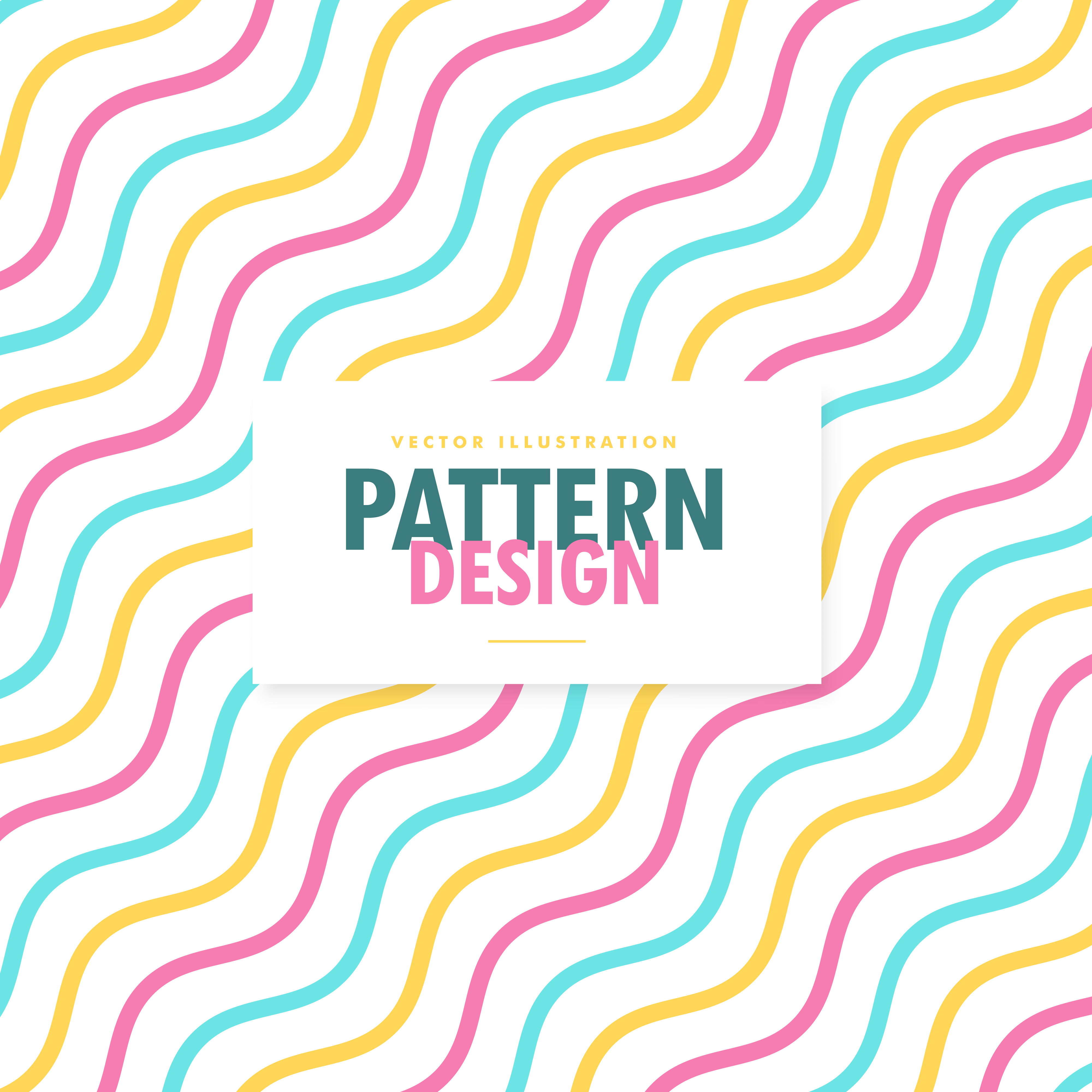 4000x4000 Wavy Pattern Free Vector Art