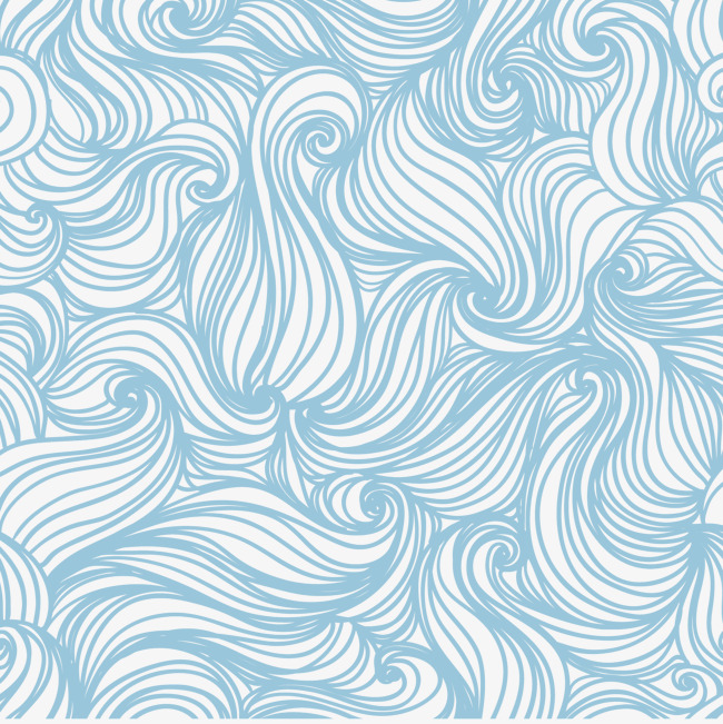 650x651 Wavy Pattern Seamless Background Vector, Pattern Vector, Line
