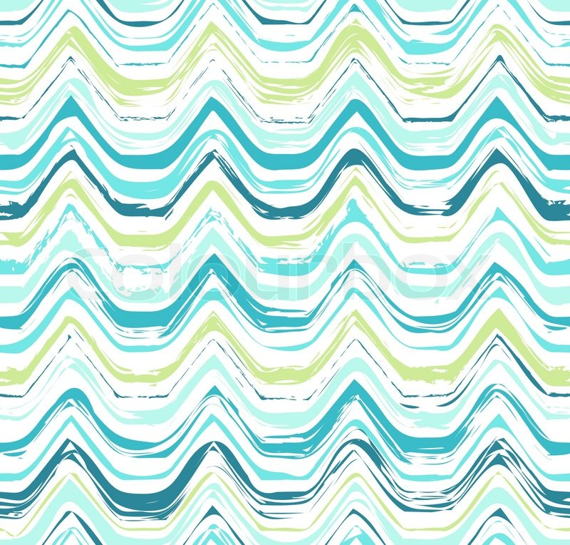 800x764 Colorful Stripes Seamless Wavy Pattern. Abstract Background With